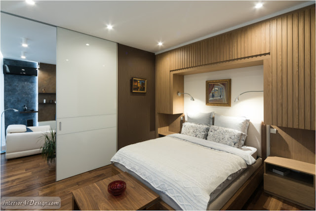 One-bedroom Apartment With Sliding Partitions