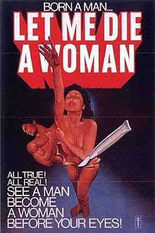 Let Me Die A Woman Poster