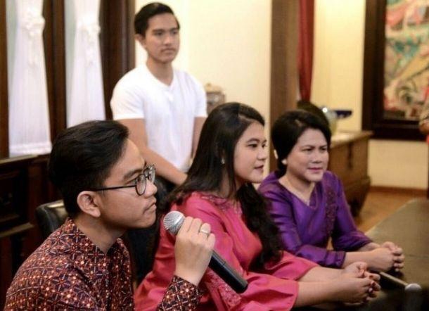 Tak Ada Nama Kaesang di Profil Biodata Keluarga Jokowi, Wikipedia Beri Jawaban Begini