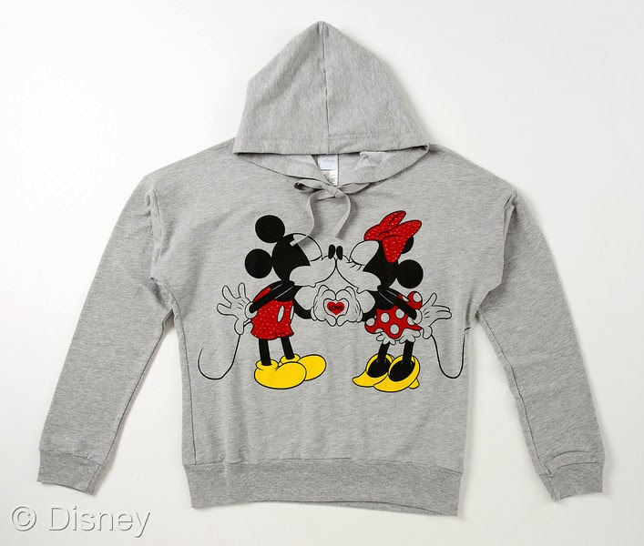 Mickey and Minnie Smooch Sweatshirt