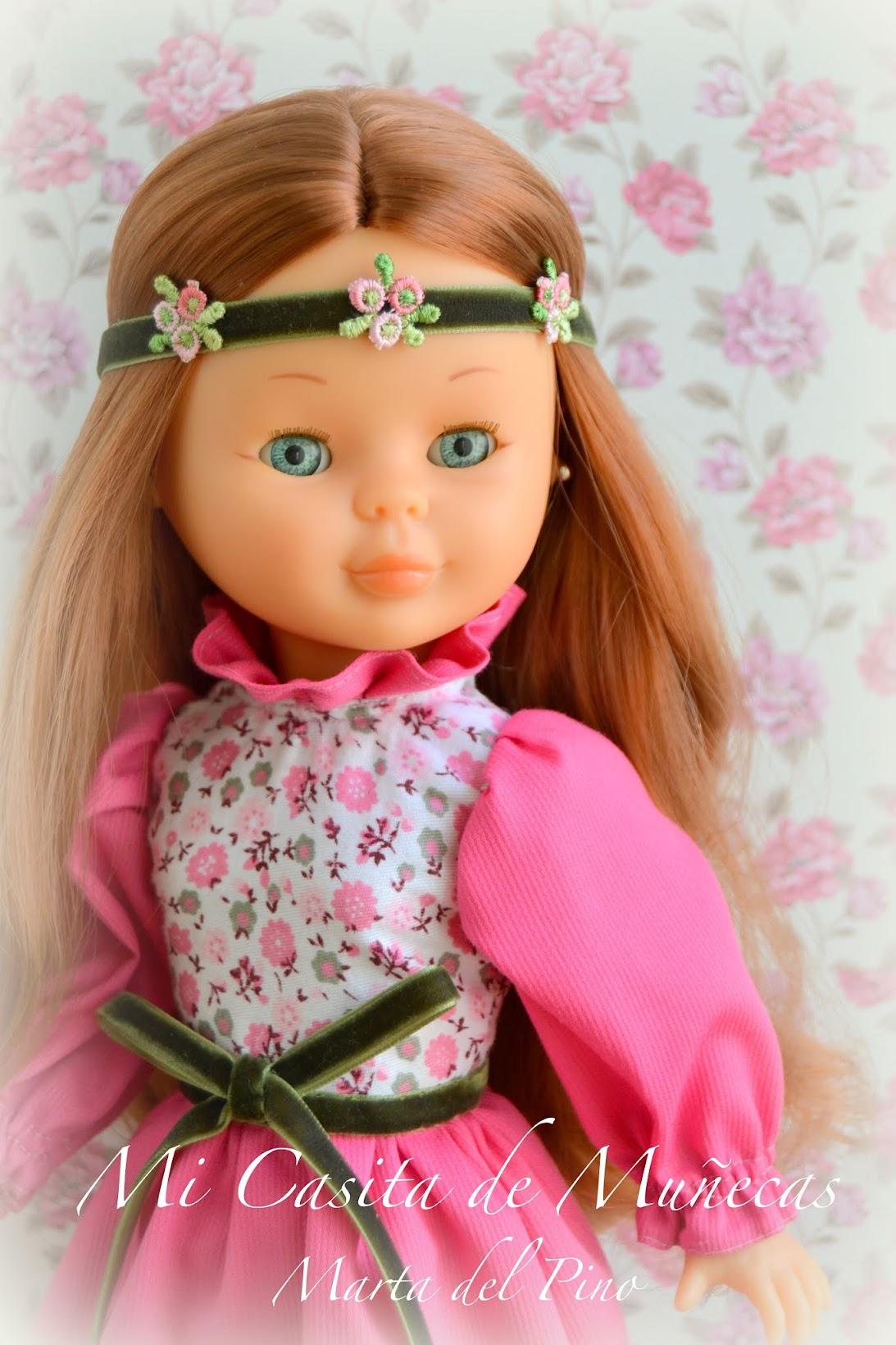 costura muñecas, Marta del Pino, Mi Casita de Muñecas, Nancy y sus vestidos, vestidos para muñecas,