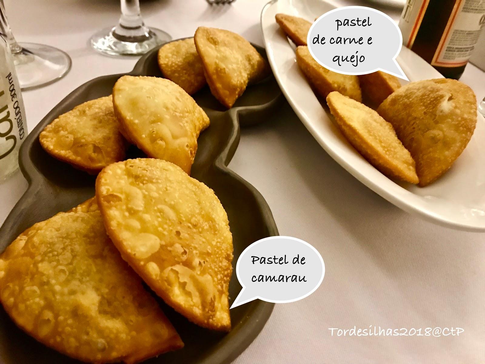 Ristorante Tordesilhas - Cucina Brasiliana alessandra ruggeri pastel de carne e queijo