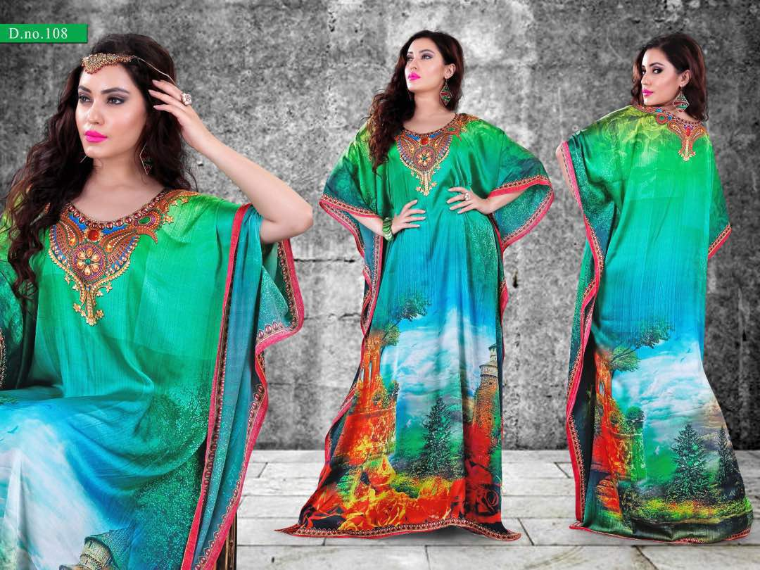 Gazal 9 – Elegant Designs And Patterns Kaftans
