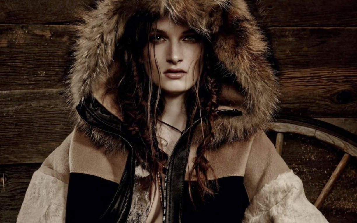 wild west: carly moore by owen bruce for elle canada november 2014