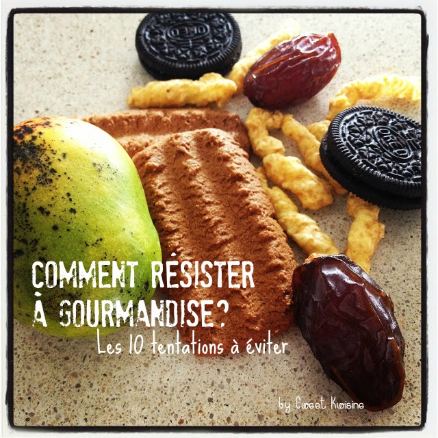 sweet kwisine, tentation gourmande, gourmandise, régime, maigrir, martinique, guadeloupe, dattes, oreos, speculoos, mangue, bassignac, aloko, bananes frites