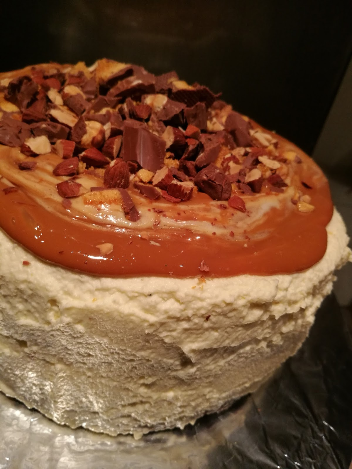Crunchie Birthday Cake Recipe