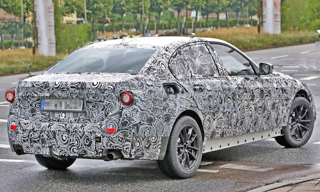 2018 BMW 3-series next Three codenamed G20 revealed