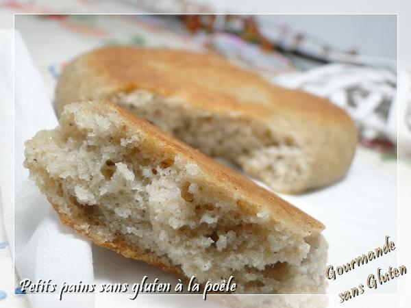 Petits pains à la poële sans gluten