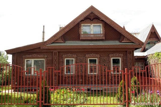 деревянные дома ярославская область