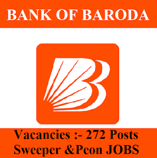 Bank Of Baroda, BOB, Uttar Pradesh, UP, Sweeper, Peon, 10th, freejobalert, Sarkari Naukri, Latest Jobs, Hot Jobs, bob logo