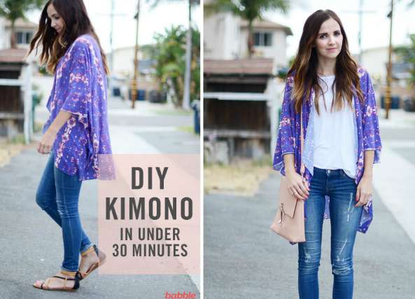 Kimono como hacerlo en 30 minutos