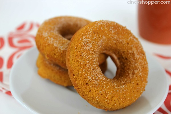 Baked Pumpkin Donuts from Cincy Shopper