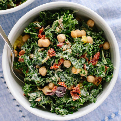 greek-kale-salad-with-creamy-tahini-dressing