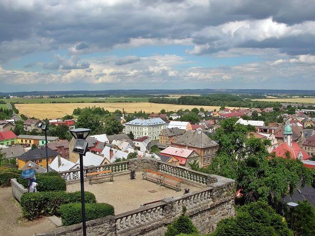 Javornik, Czechy, przy granicy, zwiedzanie