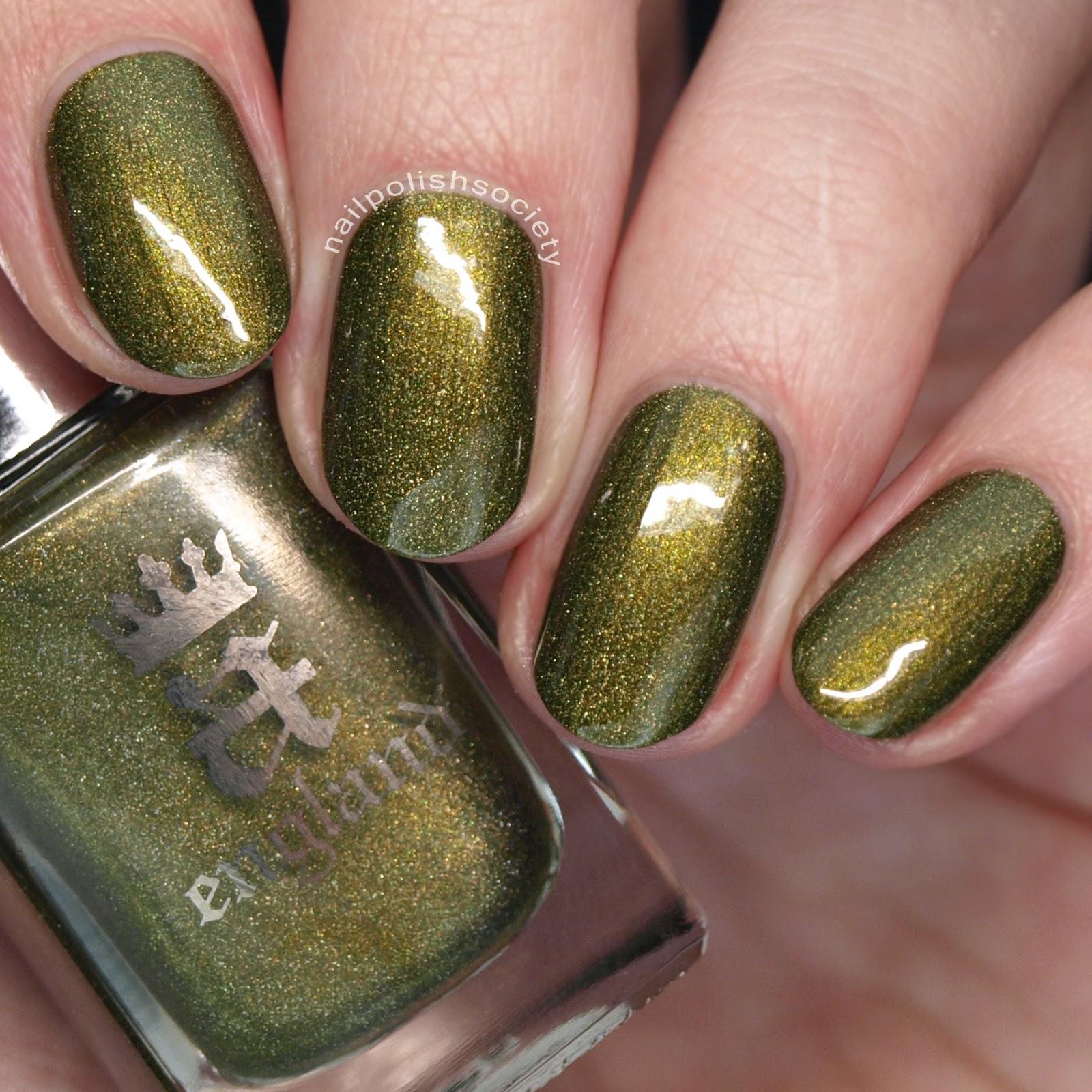 Nail Polish Society: 15 Gorgeous Green Nail Polishes for St ...