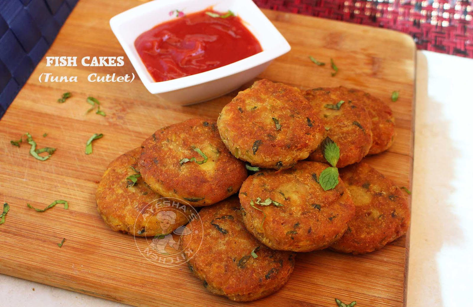 how to make tuna fish cakes without egg