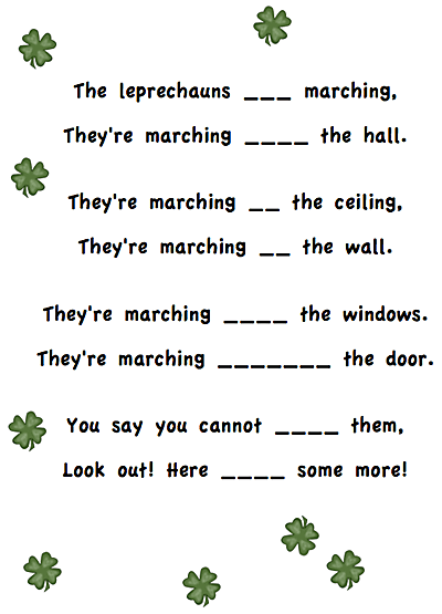 St Patricks Day Poems Funny 7