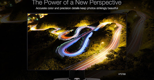 ViewSonic Introduces 2 New VP Series Professional Monitor, VP2768 and VP3268-4K