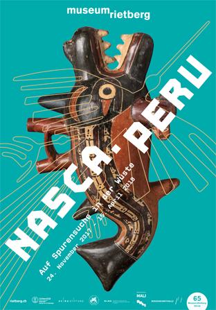Museum Rietberg Zurich Nasca.Peru Poster