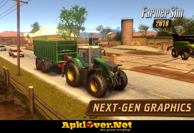 Farmer Sim 2018 MOD APK unlimited money & premium