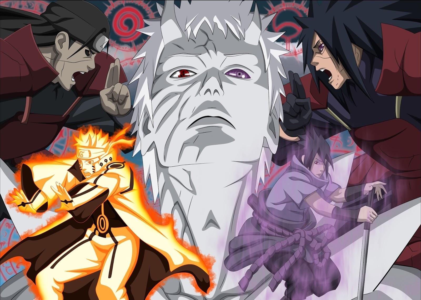 52+ Gambar Naruto Perang Terlihat Keren