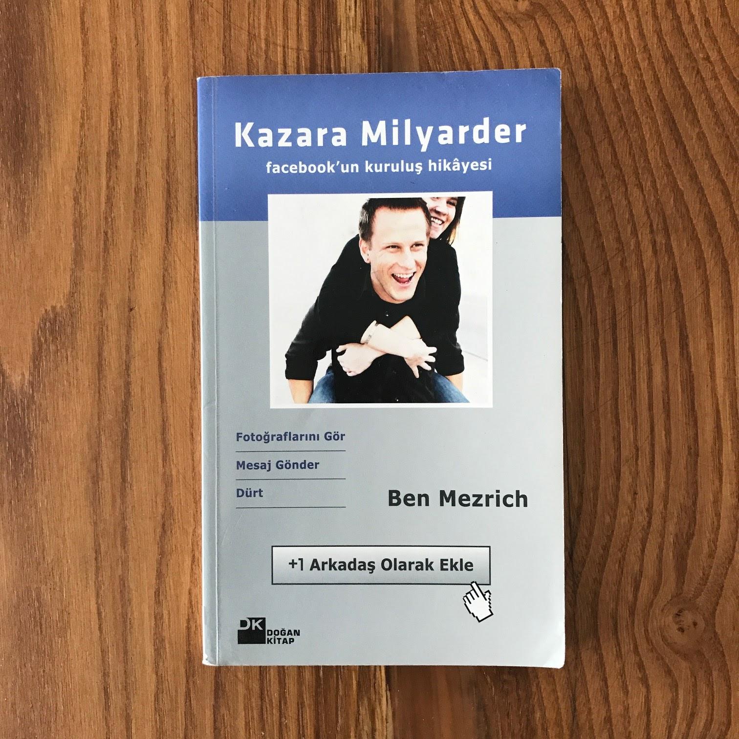 Kazara Milyarder - Facebook'un Kurulus Hikayesi (Video) (Kitap)