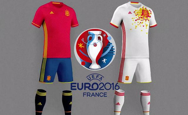 adidas devolverá a España sus colores habituales en la Euro 2016
