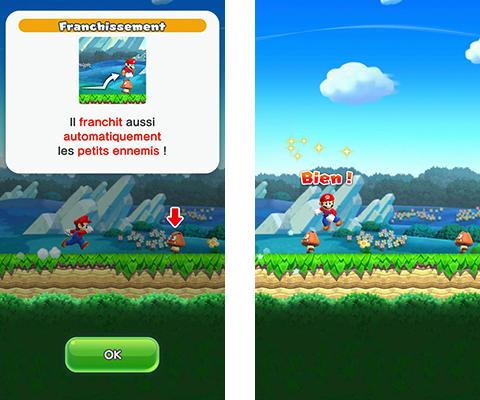 Super Mario Run Sauter