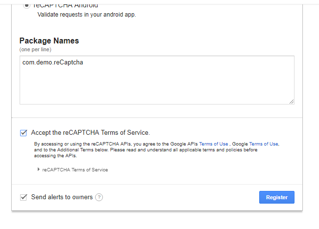 How to integrate Google's reCaptcha Validation in Android - Android Mad