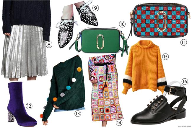 日本人ファッションブロガー,MizuhoK,ウィッシュリスト、YOSHOPで初春にほしい物リスト2017,ワンピース、コート、バッグ、スカート、ブーツ,セットアップ