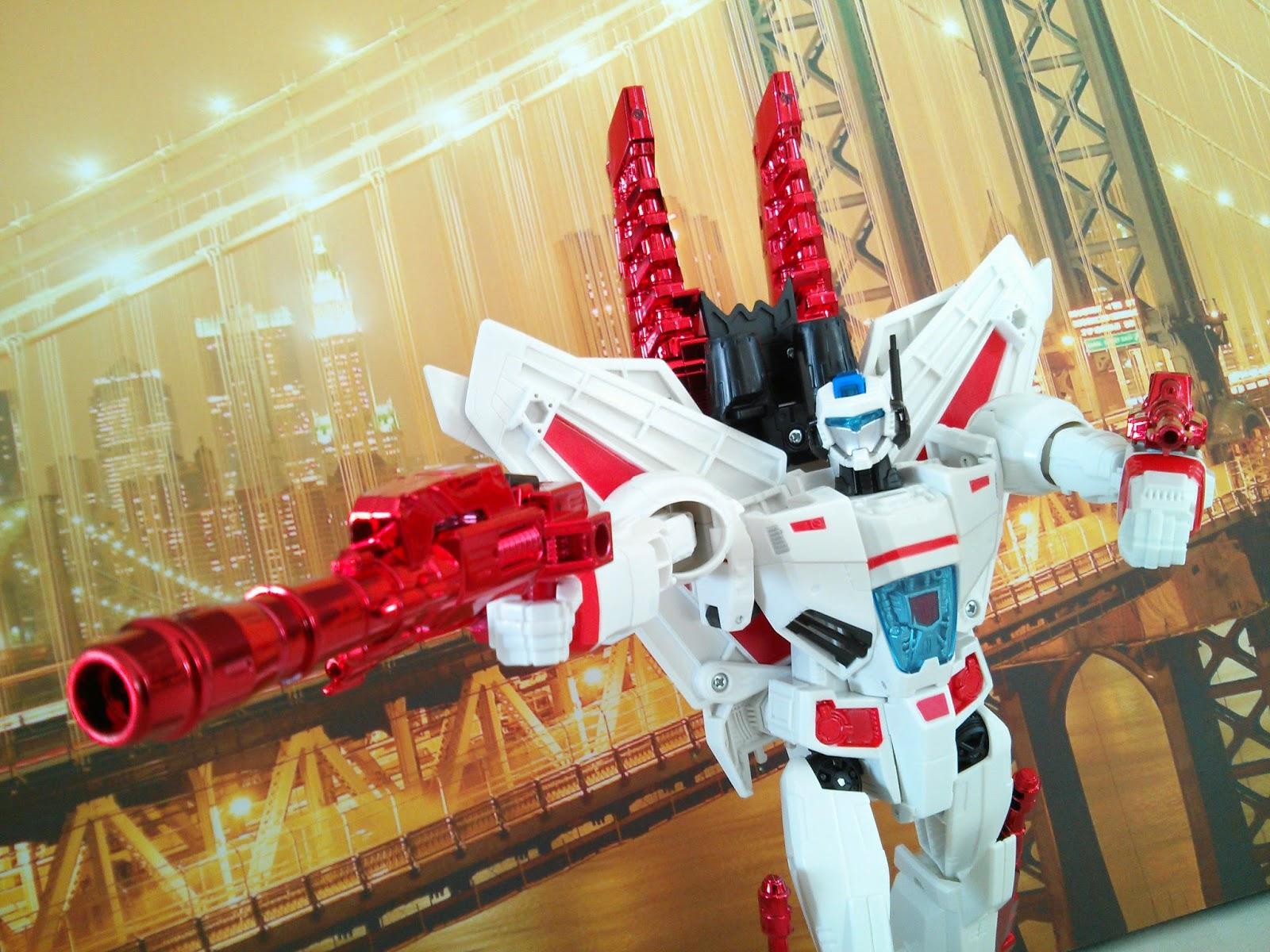 Transformers Generations Jetfire Review