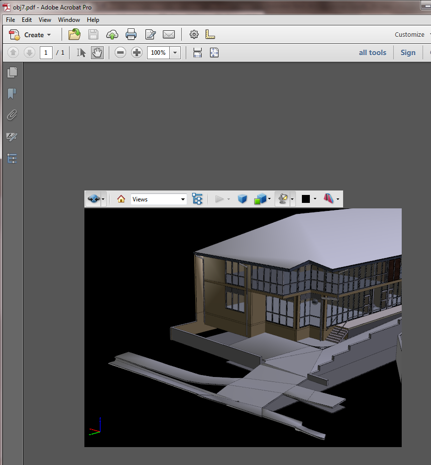 What Revit Wants: From Revit to OBJ to DAZ Studio to U3D to