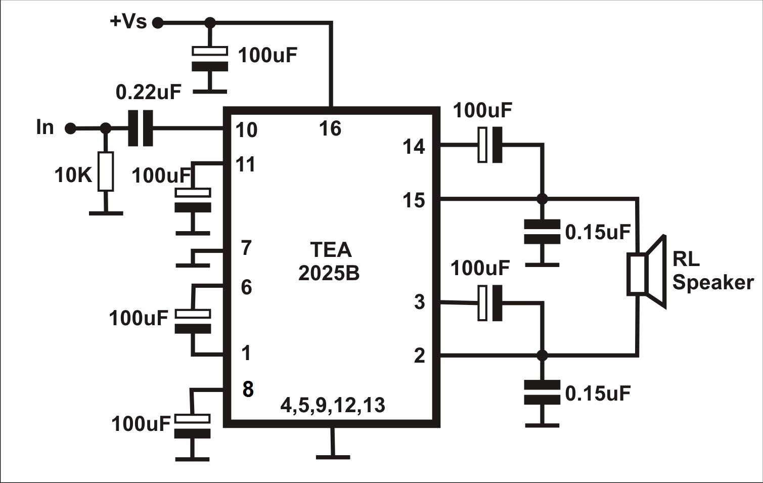 Merakit Rangkaian Elektronika Ampli Tea 5watt