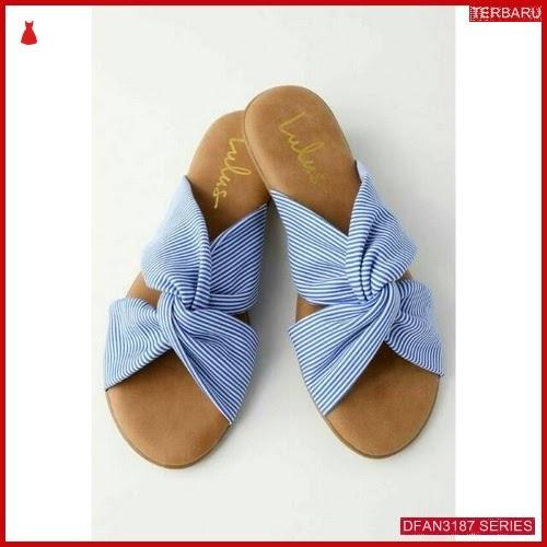 DFAN3187S33 Sepatu Sr 02 Sandal Wanita Teplek Sol BMGShop