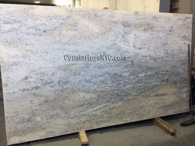 Blue Quartzite Slabs for Countertops NYC