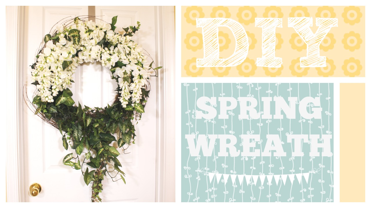 My Bashful Life: DIY Spring Wreath