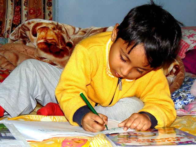 Sourajit Saha's Nephew Rick 8