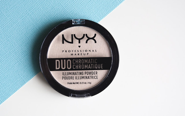 "хайлайтер NYX DUO Chromatic ""Snow Rose"" 04 отзывы"