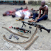 Graphic Photo Of Armed Robbers Killed During Police Shootout In Port-Harcourt..