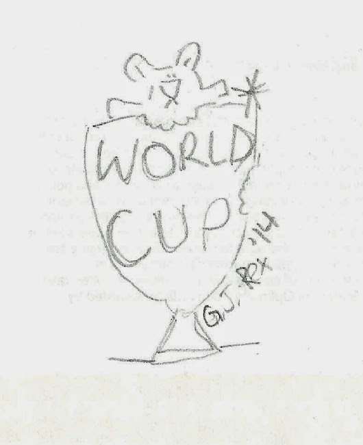 Guest blog by ex-vampire baby on bites and the World Cup