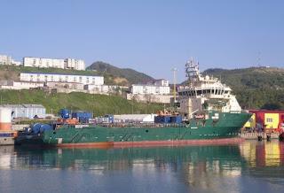 Oiler Welder On Supply Offshore Vessel