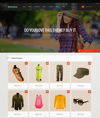 BetaCommerce Online plantilla blogger gratis tienda online