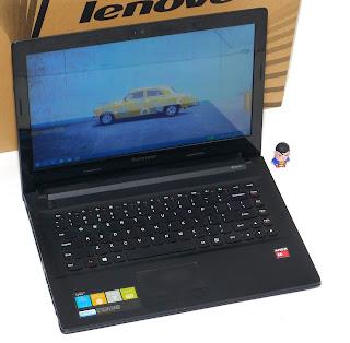 Laptop Lenovo G40-45 AMD A6 Second di Malang