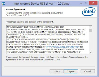 Intel® USB Driver for Android Download