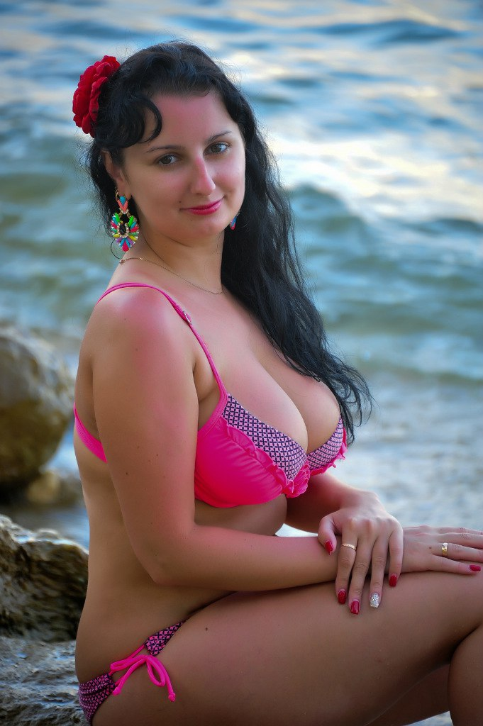 Busty russian woman