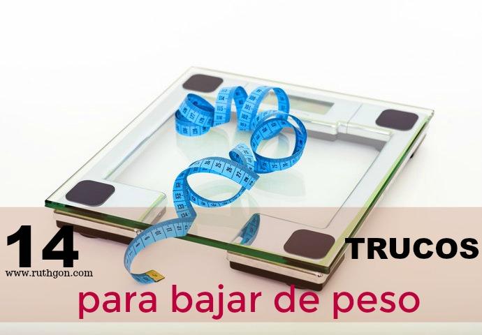 14 TRUCOS PARA BAJAR DE PESO DESPUÉS DE LOS 40.