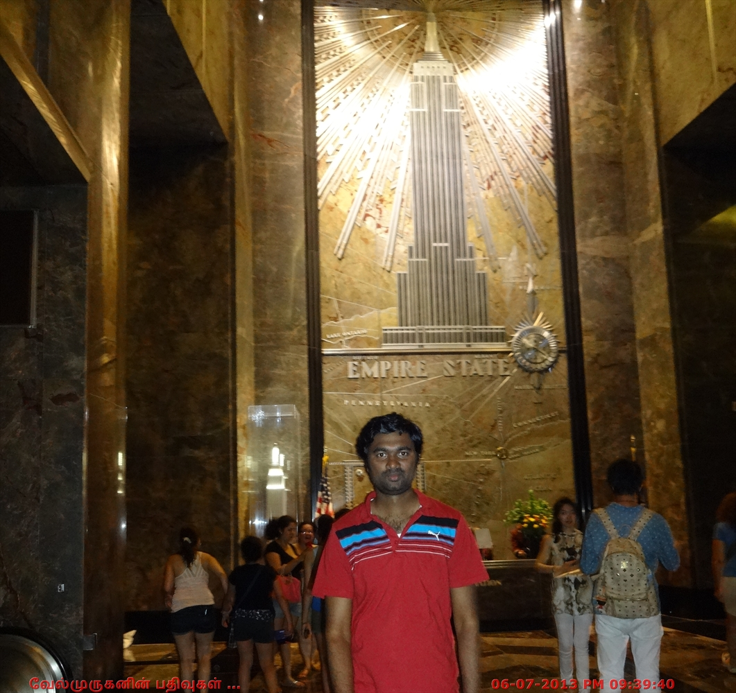 Empire state building exploring my life for 102nd floor empire state building