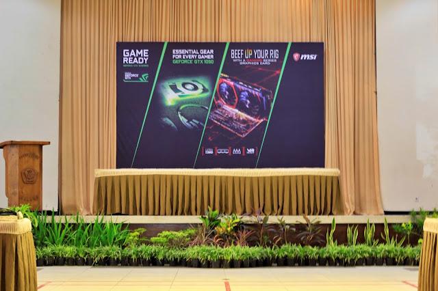 Jasa Pemasangan dan Pembuatan Backdrop Acara Seminar di Malang Berpengalaman