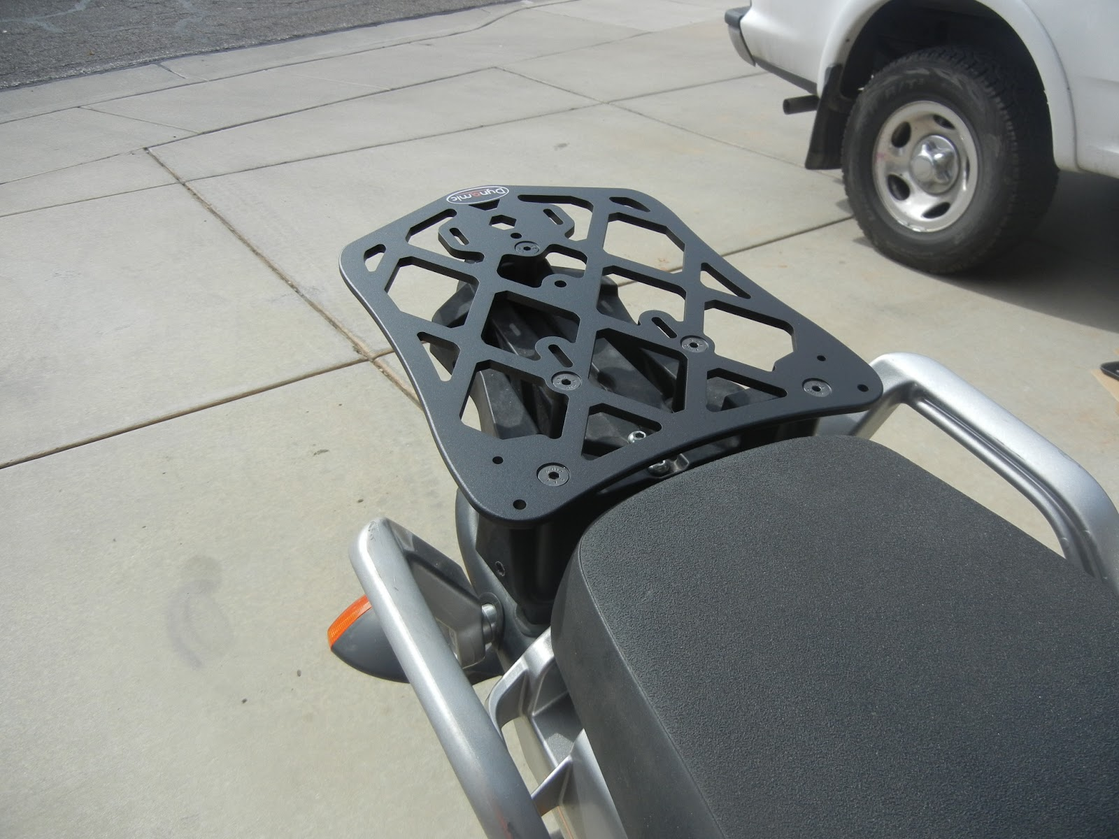 Yamaha Super Tenere Backrest