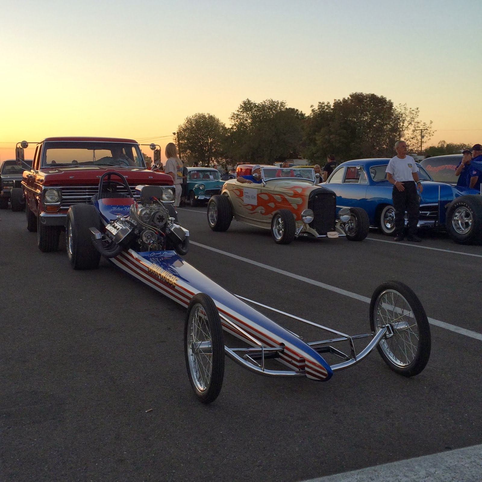 Covering Classic Cars : NHRA California Hot Rod Reunion Weekend